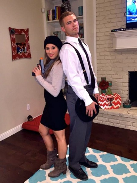 bonnie and clyde costume ideas for couples